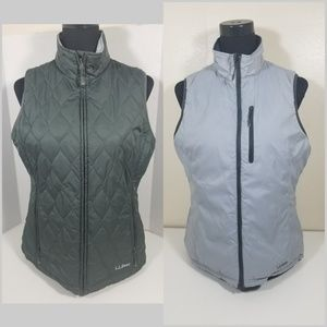 LL Bean Reversible Vest medium